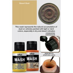 Model Wash Desert Dust