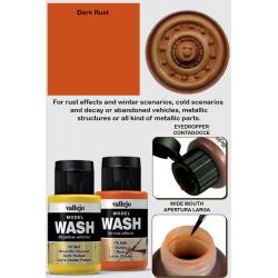Model Wash Dark Rust
