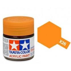 Tamiya X-26 Clear Orange 10ml