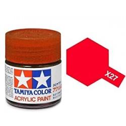 Tamiya X-27 Clear Red 10ml