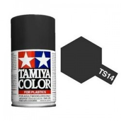 Tamiya Spray TS-14 Black 100ml