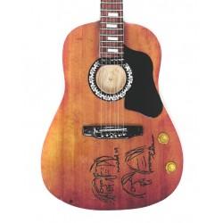 1/4 Mini guitare 'Give...